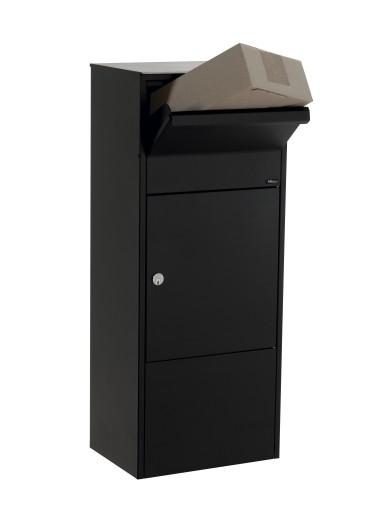 Pakketbox 800 Zwart