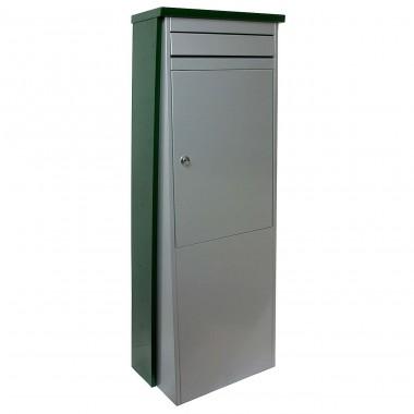 Safepost-Eurotrend nr 1 groen-zilver