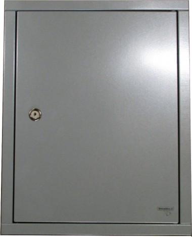 Inbouwdeur verzinkt staal Zilvergrijs
