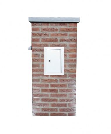 Aluminium deur Small