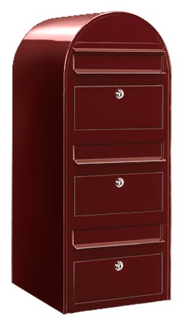 Bobi Trio Bordeauxrood ral 3005