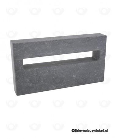 Natuursteen sleuf Medium Belgisch Hardsteen