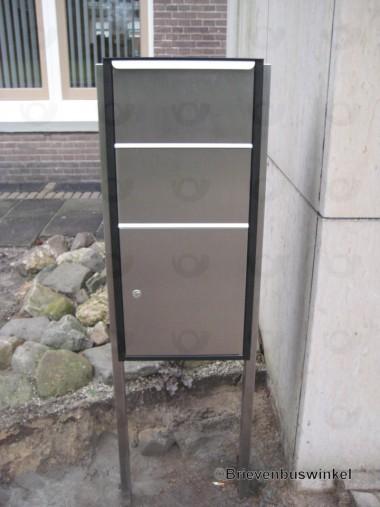 RVS kokerstatiefset t.b.v. MM-Box