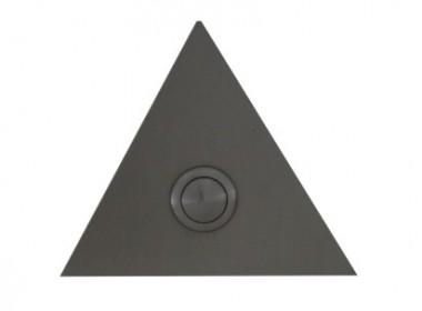 Deurbel 4mm RVS Driehoek