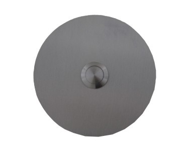 Deurbel 2mm RVS Rond Large