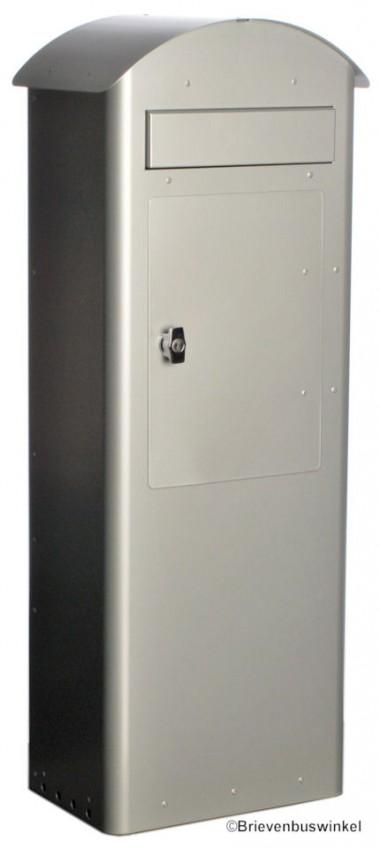 Safepost model 70-5 Zilvergrijs