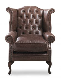 The Bolton Chesterfield Queen Ann Chair