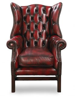 The Cardiff Chesterfield Wing Chair