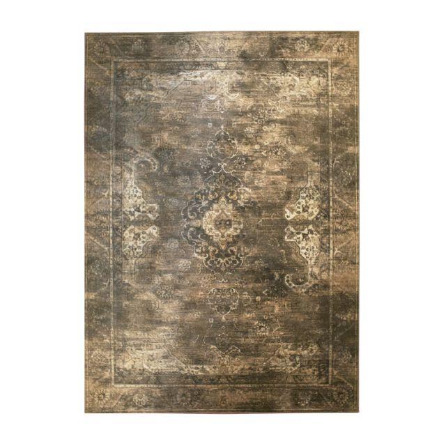 Vintage Tapijt Carpet Liv Bruin