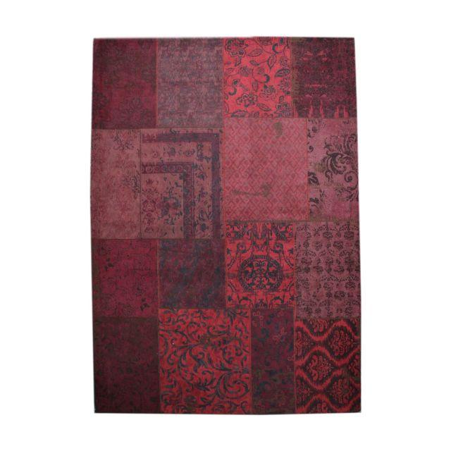 Vintage Tapijt Carpet Rood