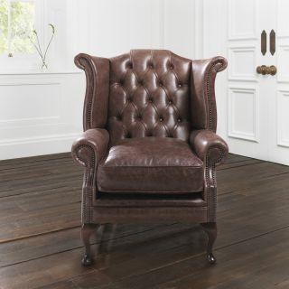 The Bolton Chesterfield Queen Ann Chair