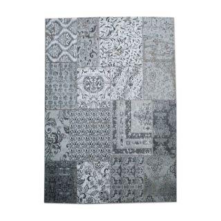 Vintage Tapijt Patchwork Grey