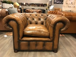 Chesterfield Stoel Tweedehands : Originele chesterfield club fauteuils oorfauteuils