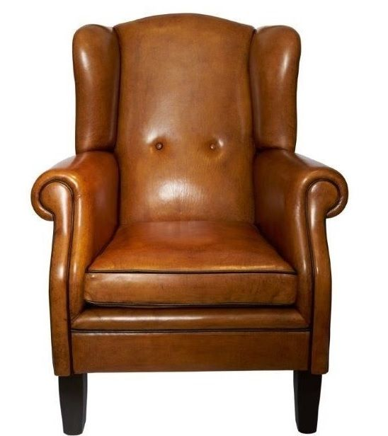 The Paris Schapenleren Wing chair