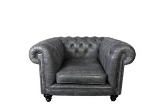 The Edinburgh chesterfield clubfauteuil