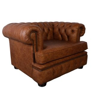 The Glasgow chesterfield club fauteuil