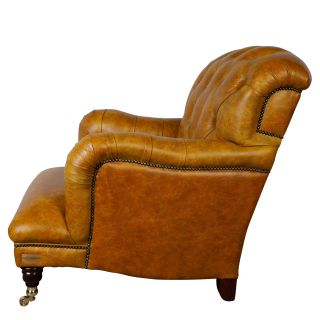 The Newcastle Chesterfield Fauteuil