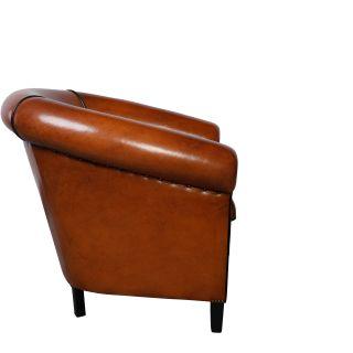 The Barcelona schapenleren club fauteuil