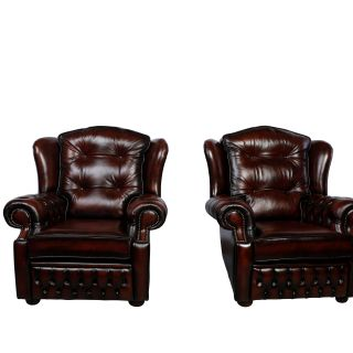 The Highlander Chesterfield Fauteuil