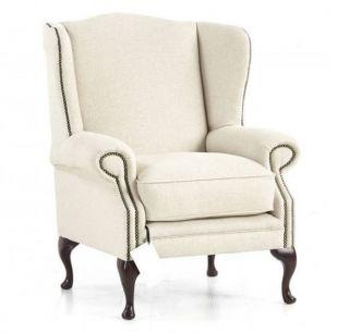 The London Plain chesterfield fauteuil