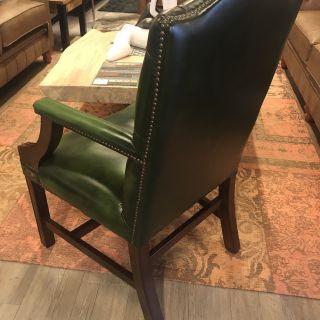 Engelse Chesterfield Gainsborough fauteuil Groen