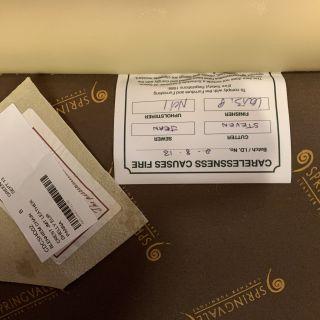 Engelse Springvale chesterfield bankstel 3-1-1 zits Crème / gebroken wit
