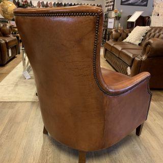 Chique schapenleren fauteuil van Bendic model Tessa