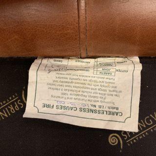 Engelse Springvale chesterfield zithoek 3-1-1 zits Cognac Naturel