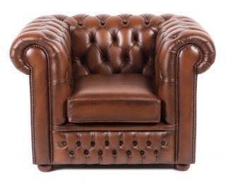 The York chesterfield club fauteuil