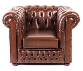 The Birmingham chesterfield club fauteuil