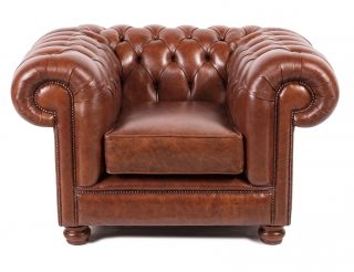 The Derby chesterfield club fauteuil