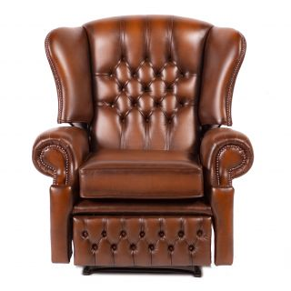 The York chesterfield Recliner / relax fauteuil