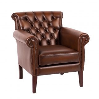 The Henley chesterfield fauteuil
