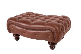 The Richmond chesterfield hocker