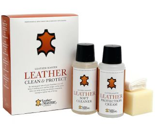 Leather Clean & Protect onderhoudspakket