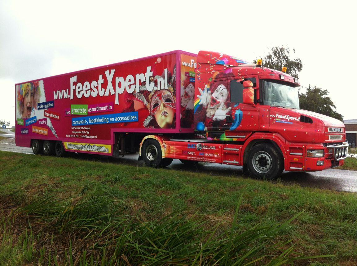 FeestXpert Vrachtwagen