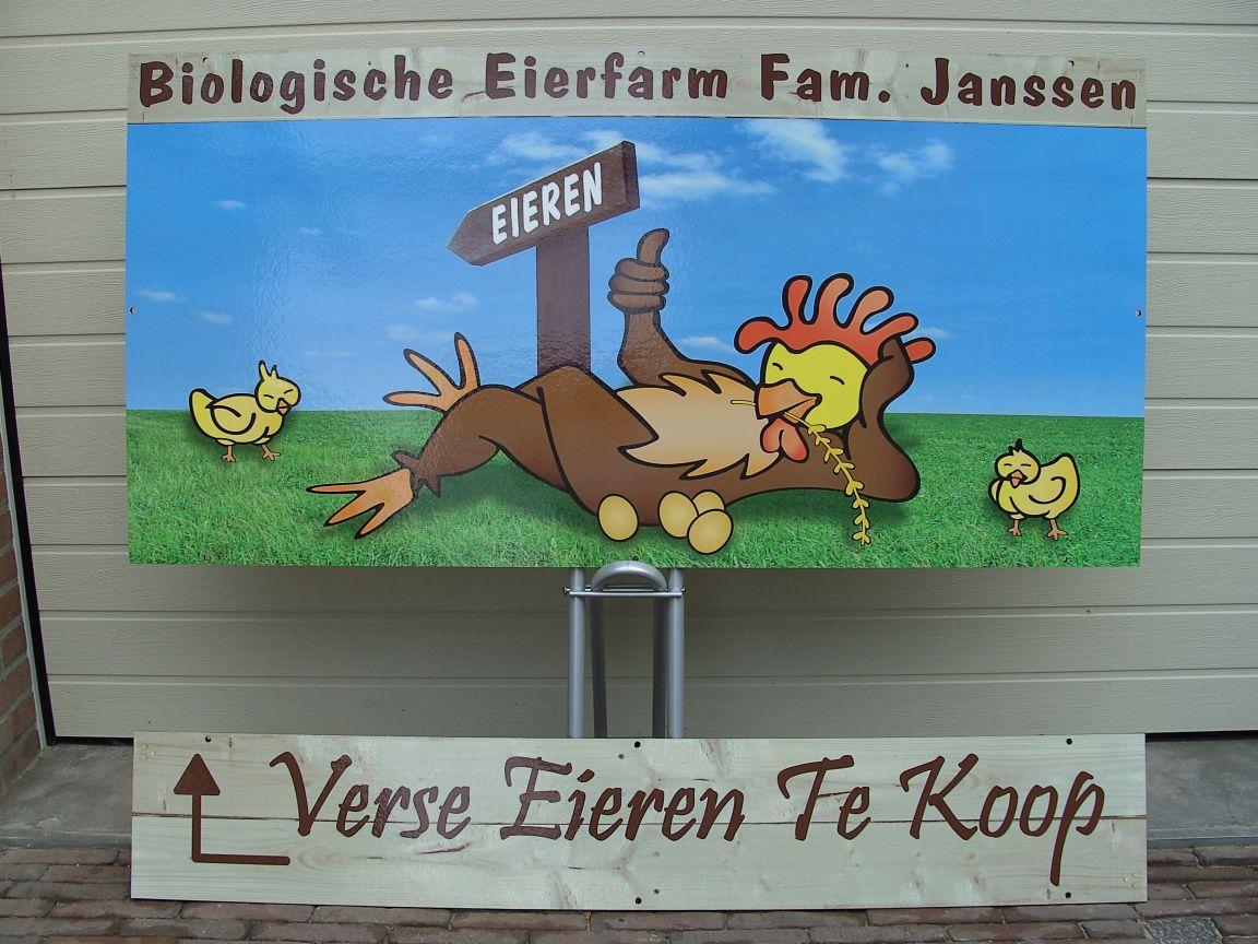 Biologische Eierfarm Janssen
