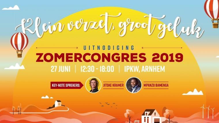 Uitnodiging Zomercongres 2019