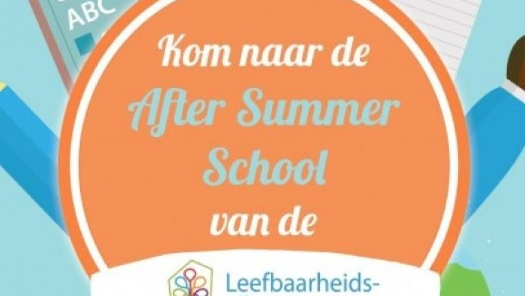 After Summer School!    Van 23 tot 27 september