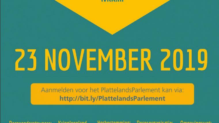 PlattelandsParlement 23 november te Venhorst