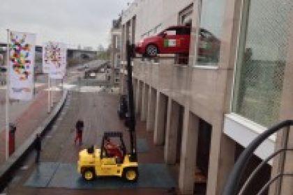 Plaatsen Fiat 500 voor Holland Casino