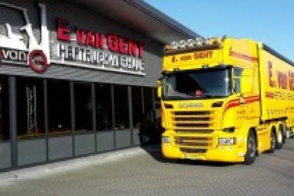 E. van Gent Heftruck-Verhuur BV schaft nieuwe Scania R450 Euro 6 aan!