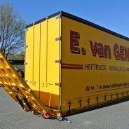 E. van Gent investeert in nieuwe Nooteboom Huiftrailer