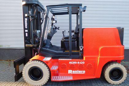 E. van Gent ontvangt 60e Raniero zwaar elektrische heftruck voor huurvloot!