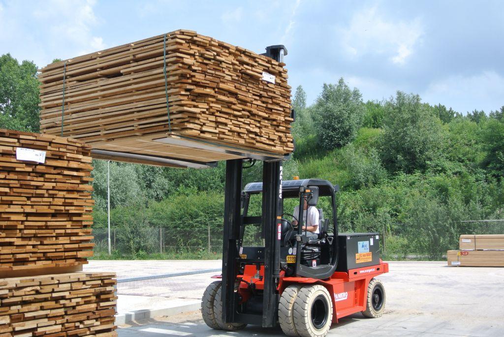 Speciale levering voor klant in houtindustrie!