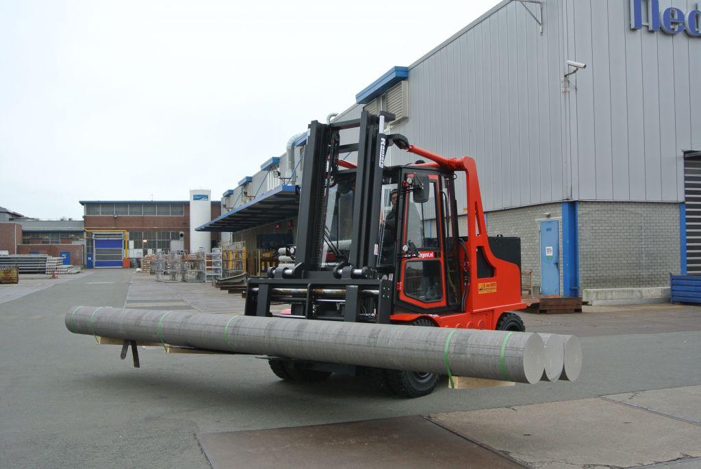 Levering nieuwe elektrische Raniero bij producent aluminium profielen!