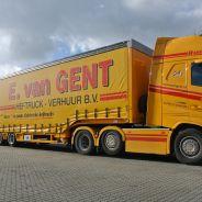 E. van Gent schaft nieuwe Faymonville 4-assige Multimax dieplader aan!