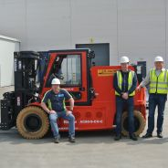Levering Raniero 8000 kg @ 900 mm elektrische heftruck!