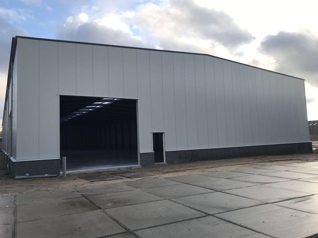Update bouw nieuwe bedrijfshal!