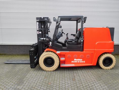 3407_Raniero AC80-9-CO-C 8000 kg @ 900 mm zwaar elektrische heftruck container (13)